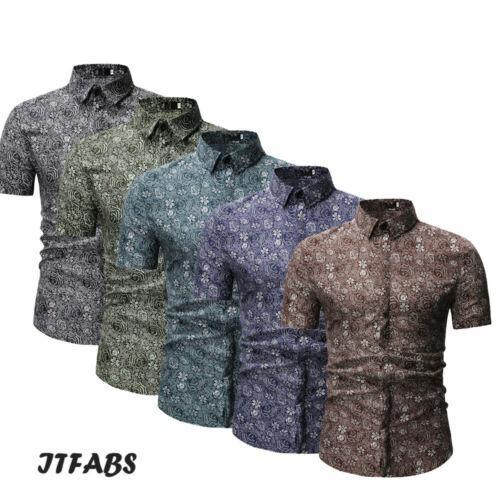 Camicia formale uomo estate nuovi di modo Camicie a maniche corte scozzese estate nuovo abbigliamento maschile alla moda