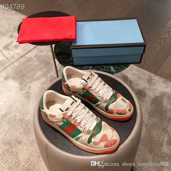 Эксклюзивные Женские кроссовки, Красная резиновая подошва, женская обувь для отдыха на открытом воздухе, размер 35-39