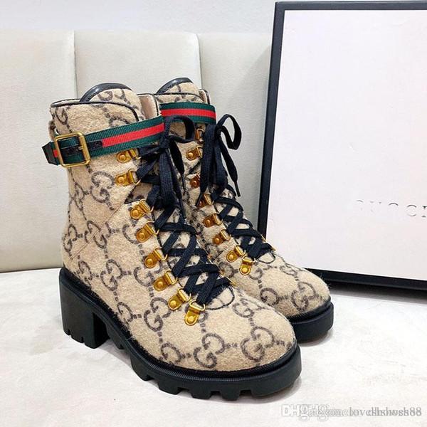 Mulheres de salto alto com couro de patente Botas e pesados solas Moda inverno clássico mulheres botas Melhor qualidade