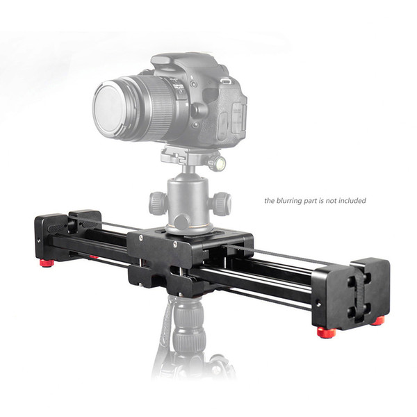 Freeshipping 40cm Retractable Video Slider Dolly Track Rail Camera Stabilizer for Canon Nikon Sony DSLRs Cameras Load Up to 8kg