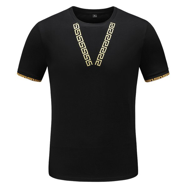 Mens New Fashion T Shirt with Brand Print Fashion Designer Top Tees Short Sleeve Casual T-shirt with tags M-3XL