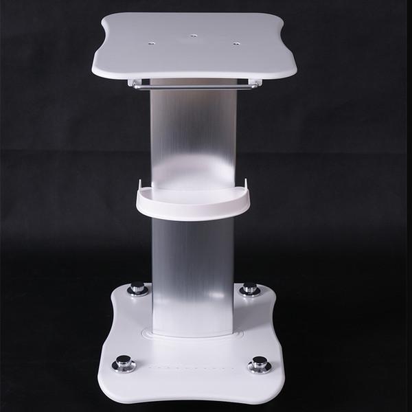 Carrello in alluminio ABS con rotella per carrello con rotolamento Carrello per carrello per carrello per terapia ad onde d'urto Idro dermoabrasione Cavitazione IPL HIFU RF Macchina
