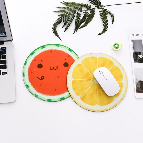 New Style Creative personality planet mouse pad soft cushion small fresh round notebook computer pad rubber thickened