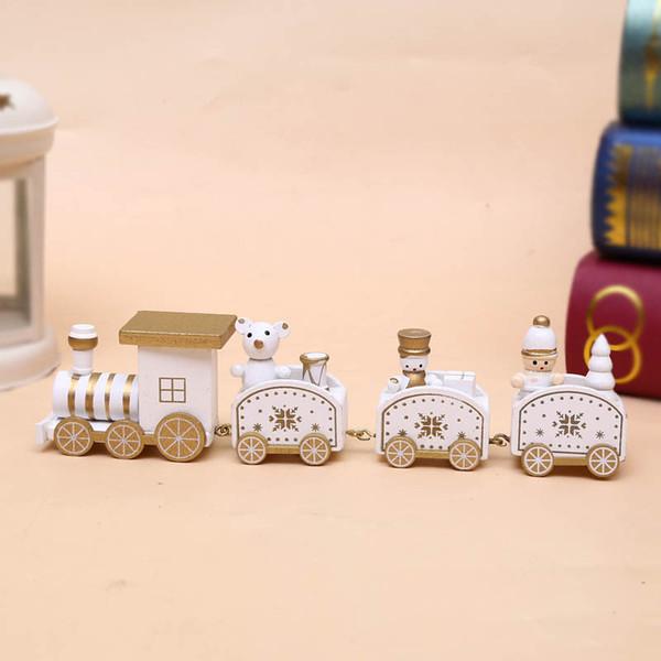 4 Segments Train-White