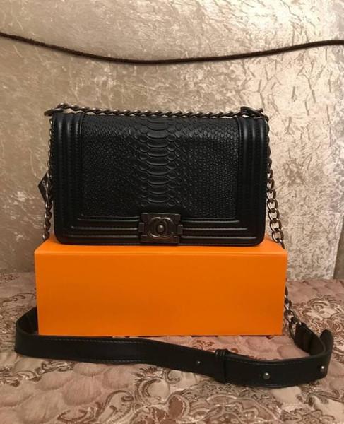 Venta caliente Moda Bolsos de la vendimia Bolsos de las mujeres Bolsos del diseñador Carteras para las mujeres Bolso de cadena de cuero Crossbody y bolsos de hombro # 1010