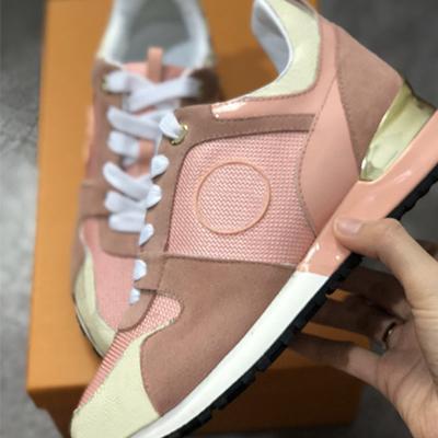 la marque des hommes de chaussures de sport Designer chaussures formateurs unisexe chaussures de course pour les hommes des femmes des coureurs appartements coureur véritable marque de chaussures en cuir luxe WM02