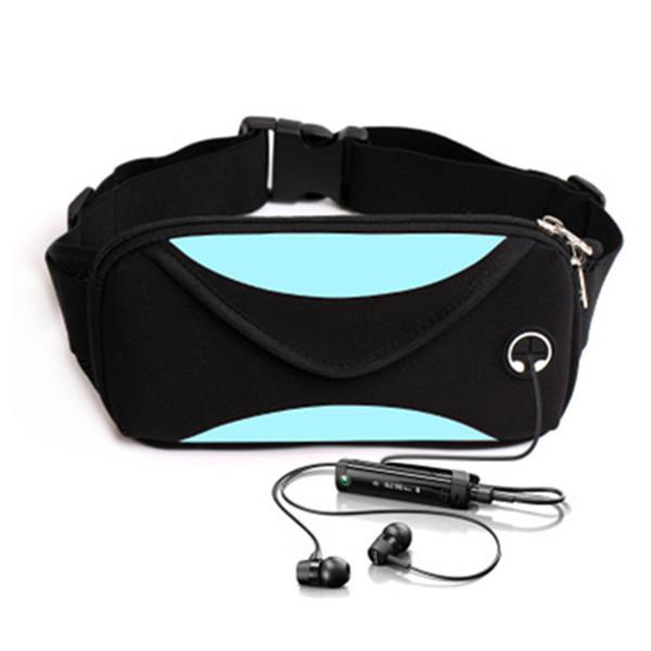 Unisex waist pack men waterproof fanny pack women belt bum bag waist bag male phone wallet Pouch Bags