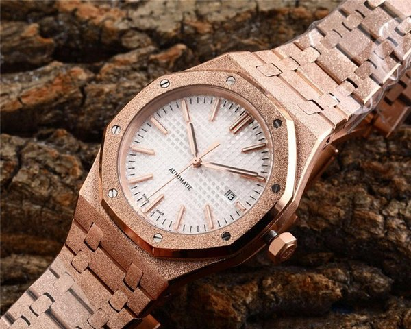 Hot 45mm luxury watch mens designer watches sapphire gold silver automatic mechanical movement wristwatches gift for birthday