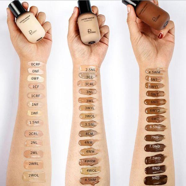 HOT Brand lasting Makeup face body Foundation Matte Oil-contral Liquid foundation BB CREAM CC CREAM 40 Colors Concealer 40ML