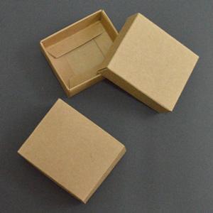 kraft 6X5X2cm 10pcs por pacote