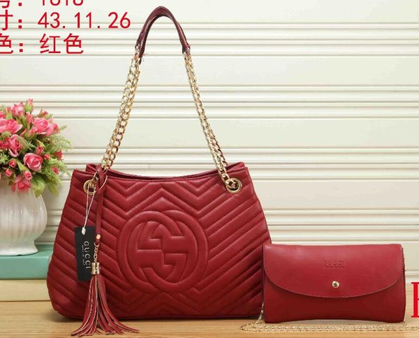 Nueva venta caliente Muy alta calidad de cuero real vendedor caliente marca diseñador bolso para las mujeres 04