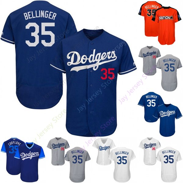 new style 3b0bc f7260 2019 Custom Los Angeles 35 Cody Bellinger Jersey Dodgers Jerseys Cool Base  Flexbase White Black Red Grey Home Away Men Women Youth Cheap From ...