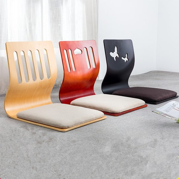 2019 Floor Seating Zaisu Chair Asian Design Living Room Furniture Japanese  Style Tatami Legless Meditation Chair Cushion From Klphlp01, $185.93 | ...