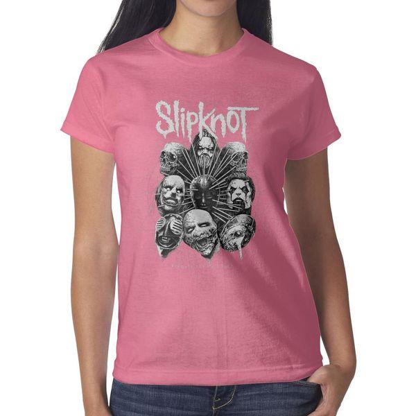 Slipknot amerikanisches Schwermetallband-Rosat-shirt, Hemden, T-Shirts, T-Shirts entwerfen zufälliges T-Shirt des verrückten Meisters der Weinlese