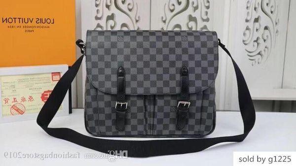 Men s Reise Frauen Tasche echte Leder-Handtaschen 0Leather keepall 45 Schultertasche M41500 GRÖSSE 33,0 28,0 x 8,0 cm