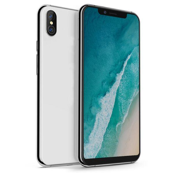 Goophone Xs Max Smartphone MTK6580 1G Ram 4G / 8G / 16G Rom Memoria 1300W 200W Cámara con teléfono móvil Se muestra falso 256G 4G LTE Celular DHL gratis
