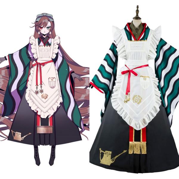Rozen Maiden Cosplay Rozen Maiden Sui sei Seki Suiseiseki Cosplay Costume Kimono Suit Apron Dress Adult Men Women Halloween