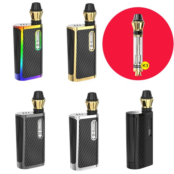 100% authentische Kangvape Klasik Box Mod mit K3-Keramikspule 5 Farben Vorwärmfunktionen Batteriekapazität Led Anzeige Großhandel