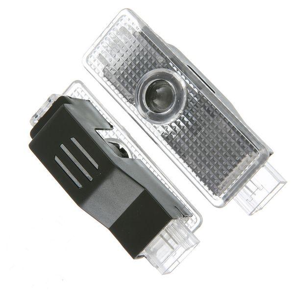 Araba styling Araba kapı ışıkları logo projektör hoşgeldiniz led lamba hayalet gölge ışıkları Audi A3 Için A4 Q5 Q7 TT A5 A8 A1 A8L A6L Q3 R8