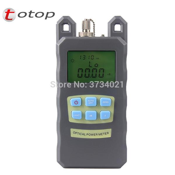 Mini Portable Adjustable Fiber Optic Optical Power Meter Cable Tester Networks FC/SC connectors -70~+10dBm