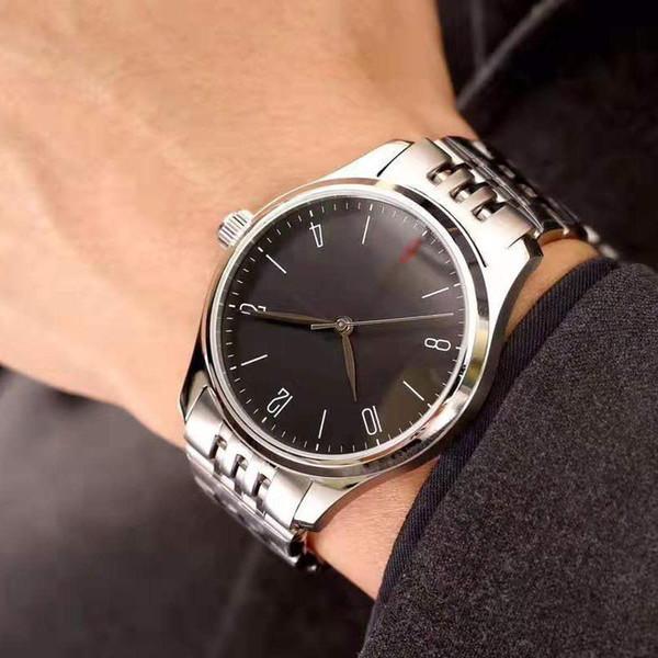 2019 Горячих Автоматическое движения часы механического диаметра 40 мм корпус часов из нержавеющей стали ремешка для часов сапфира мужской моды