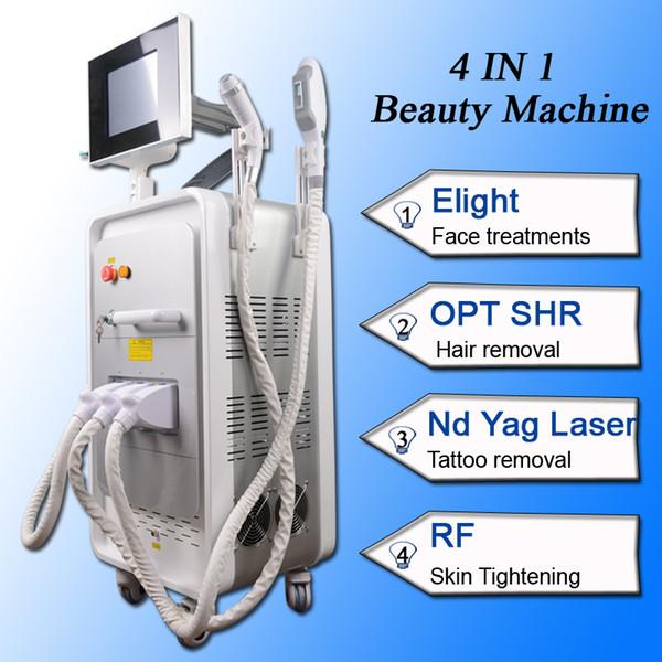 ipl hair removal machine portable Q Switch Nd Yag Laser Tattoo Removal RF Skin Rejuvenation Machine For Salon Clinic Use