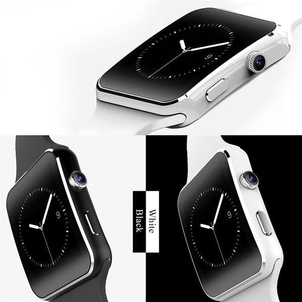 Nuevo Bluetooth Smart Watch X6 Smartwatch Sport Watch 1.54
