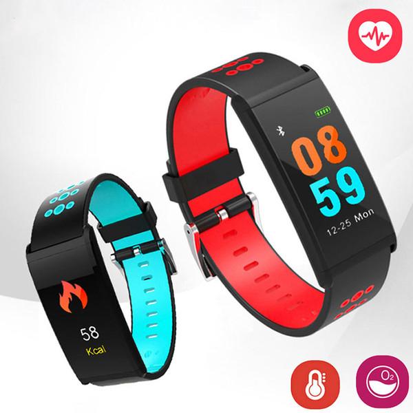 X20 Akıllı Bant 0.96 Inç Renkli Ekran Su Geçirmez IP68 Kan Basıncı Akıllı Bilezik Spor Izci Kalp Hızı monitörü Bileklik