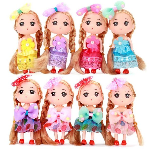 versão coreana confundido boneca bicarbonato de sobremesa decoração do bolo nu molde boneca chave pingente boneca de vinil estatueta