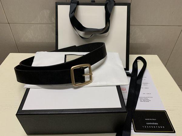 best selling 2019 Belts for Mens Belts Design Belt Snake Belt Real Leather Business Belts Women Big Gold Buckle