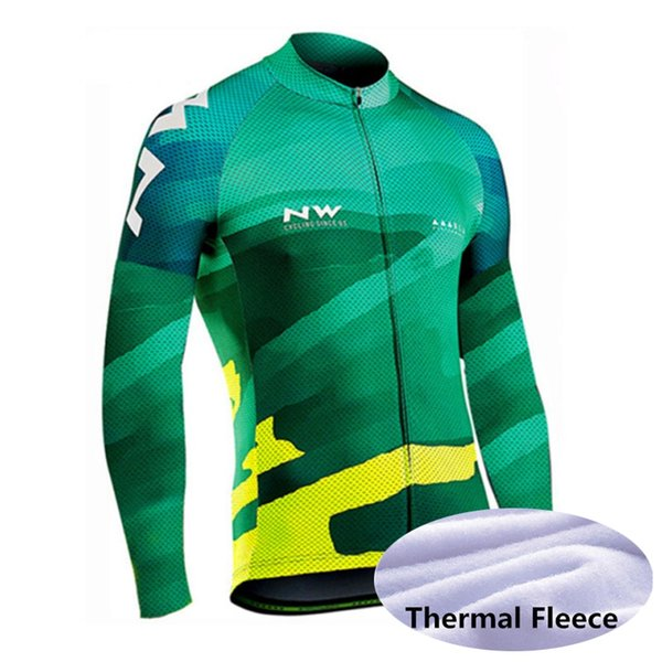Women Cycling Bike Jersey Long Sleeves Green S M L