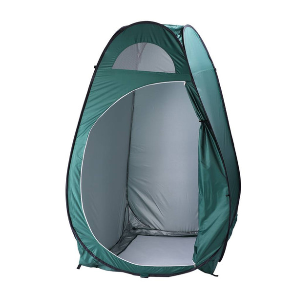 Army Green Portable Outdoor Pop-up Tent Dressing Fitting Room Privacy Shelter Tent Camping Hiking Tent US with 4xMetal stakes Free shipping