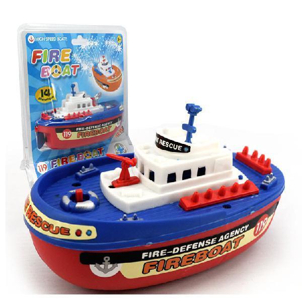 LeadingStar Children Mini Electric Speed Boat Navigation Model Waterproof Boat Toy Christmas Gift