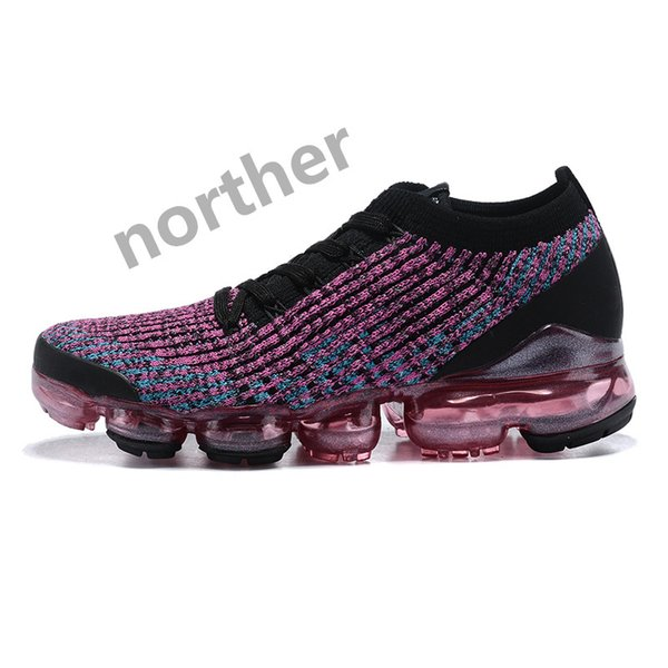 05 Women Black Purple Multi-Color