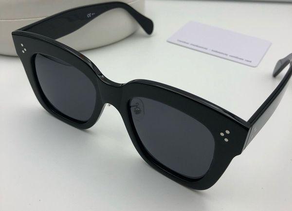 41444 Lüks Kadınlar Tasarımcı Güneş Gözlüğü Wrap Tasarımcı UV koruma Unisex Modeli Büyük kare Çerçeve Üst Kalite ücretsiz Kılıf Ile Gel