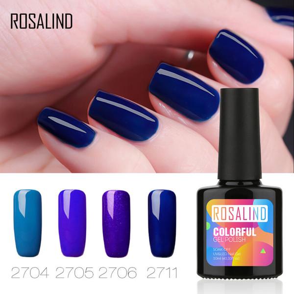 Gradient 10ml Color Azul Sólido Uv Gel Barniz Esmalte De Uñas Set Para Manicura Gellak Uñas Híbridas Semipermanentes Art Nail Gel Tslm2 Por Hilarye