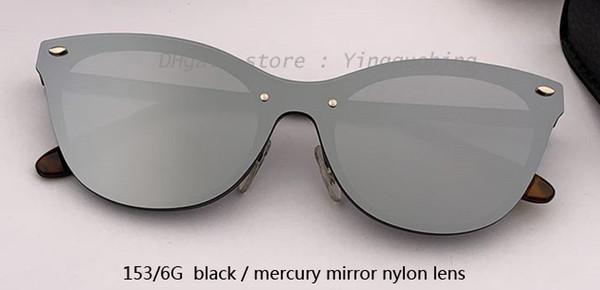 153/6G black/mercury mirror lens