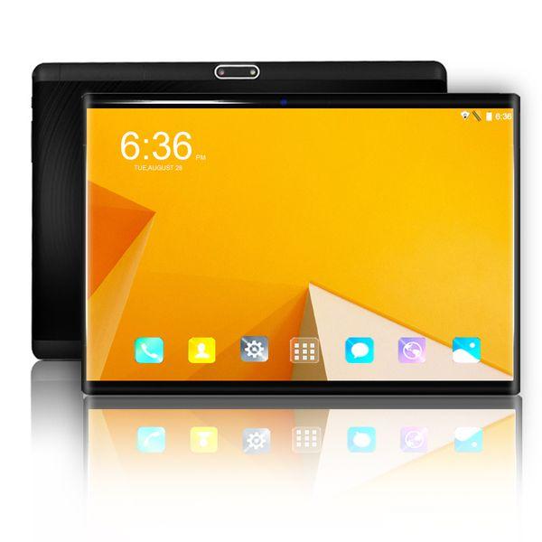 Original Tablet PC 10 pouces Android 8.0 Octa core 6 Go + 64 Go 3G / 4G LTE Appel téléphonique Double carte SIM 1280 * 800 IPS WIFI MID Tablettes 10.1
