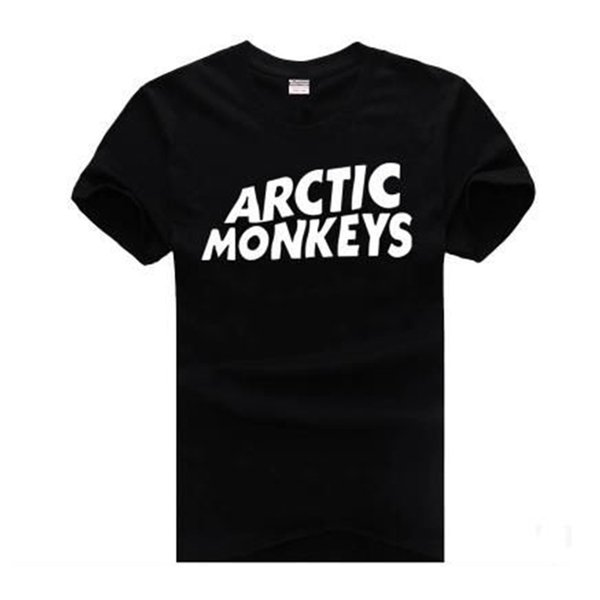 ARCTIC MONKEYS Mens Tshirts Short Sleeved Tops Teenager Casual Clothing Summer Tees