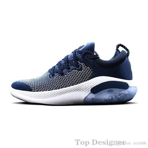 Joyride Run FK Mens Designer Sneakers Triple Black University Red White Sail Knit Bleached Running Shoes cc3 Chaussures Trainers Shoe A5