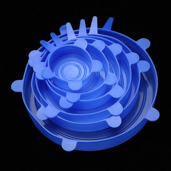Blu 6 pezzi 1 Set