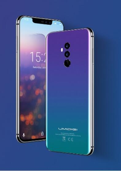 Umidigi Z2 Special Edition Global Version 4G Smartphone Android 8.1 4GB+64GB Helio P23 Octa Core 16MP+8MP 6.2 inch Cell Phone