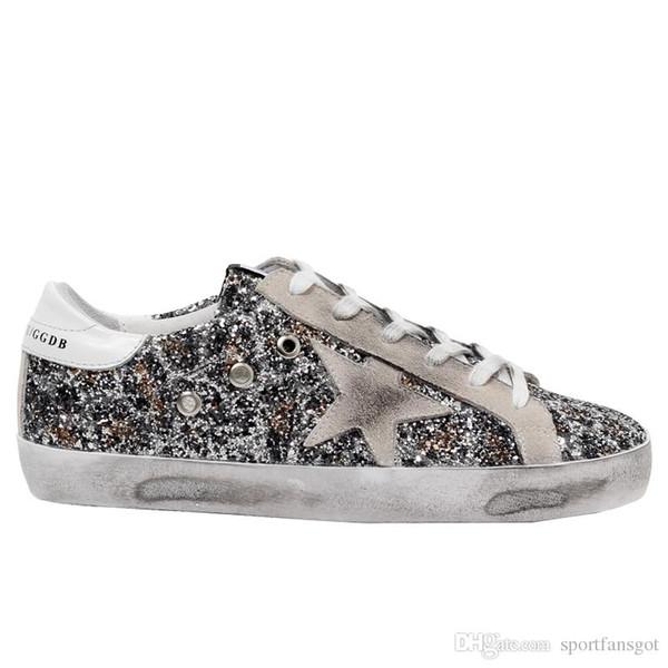 Golden Gooses 2019 Dirty Sneaker Fashion Men Women Italy brand SLIDE Sneakers Luxuries Designers Scarpe Donna Uomo Sneakers