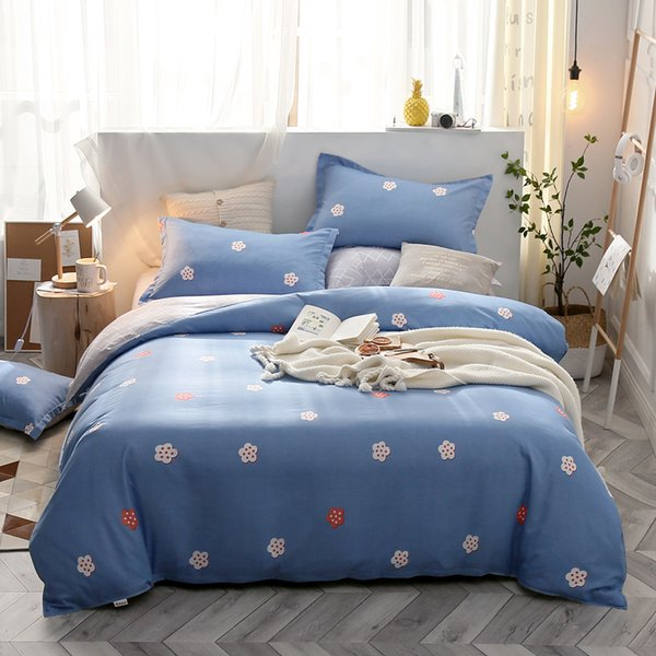 Beautiful 3/4pcs Bedding Sets flower Duvet Cover Bed Sheets Pillowcases twin full queen king Comforter cover luxury bedclothes