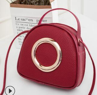 Popular fashion big brand personality creative ring mobile phone bags foreign trade hot selling oblique shoulder small bag 2019 new handbag