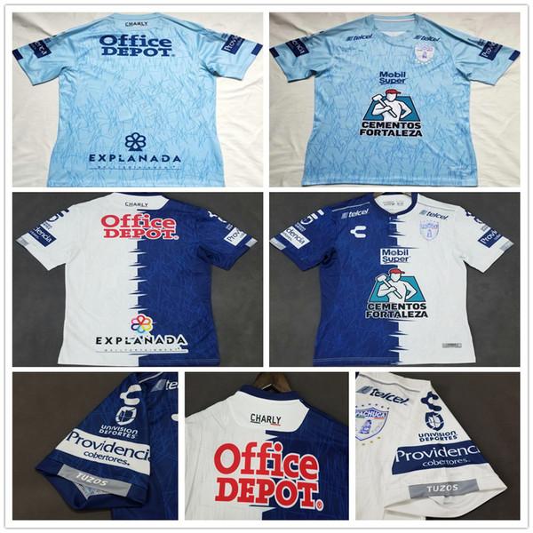 2019 2020 LIGA MX Club CHARLY Pachuca Camisetas de fútbol MANII GARCIA JARA Custom Local Visitante Azul Blanco 19 20 Camiseta de fútbol