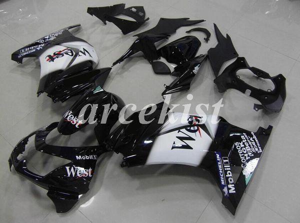 Injection mold New ABS Fairings kit Fit for Kawasaki ninja250 2008-2015 EX250 ZX250R 2008 2009 2010 2011 2012 2013 2014 Custom West