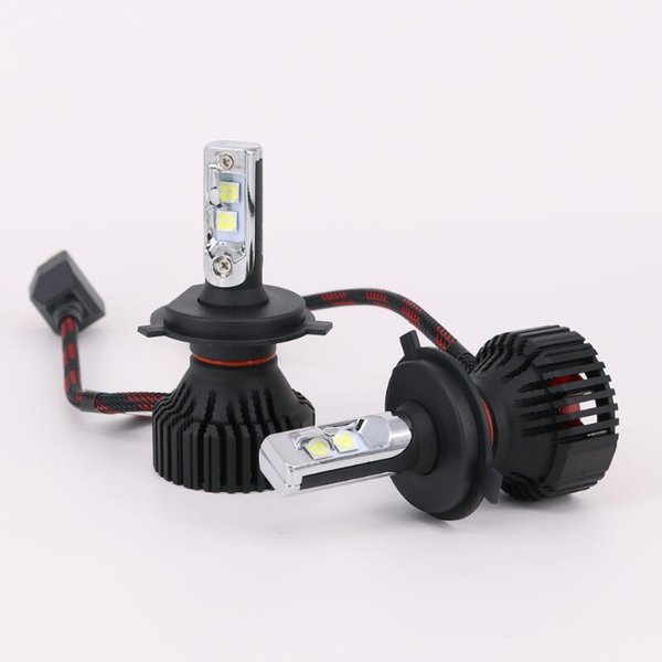 TOYIKIE 1Set H4 9003 HB2 60W 8000lm For XHP50 CHIPS Car LED Headlight Kit H/L Dual Beam H7 H11 9005 9006 Single Beam