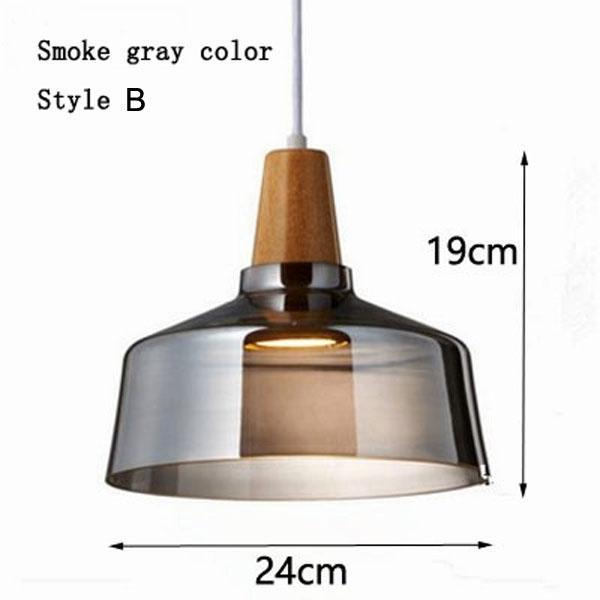 Smoke gray color & style B