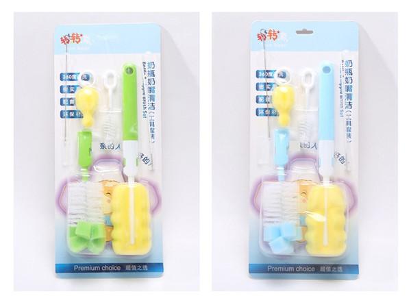 Baby Milchflasche Tasse Schwamm Reinigungs Werkzeuge Strohhalm Bürste Nippel